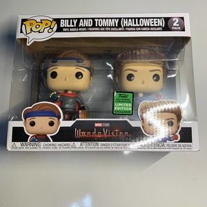 Funko Pop Billy & Tommy ECCC 2 Pack